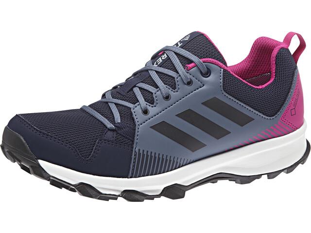 online store 89aef 72e0a adidas TERREX TraceRocker GTX Trail-Running Shoes Women Tech InkLegend  InkReal Magenta